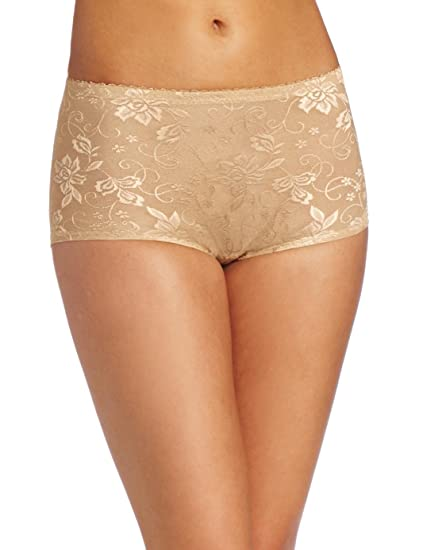 cddb43cc7d9d4 Heavenly Shapewear Women s Jacquard Padded Panty  Amazon.ca ...