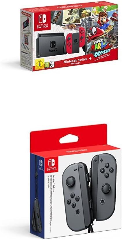 Nintendo Switch - Consola + Super Mario Odyssey Bundle (Código ...