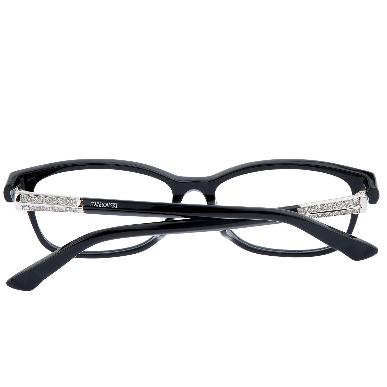 SWAROVSKI Brille Damen Brillengestell Rechteckig Brillenfassung ...