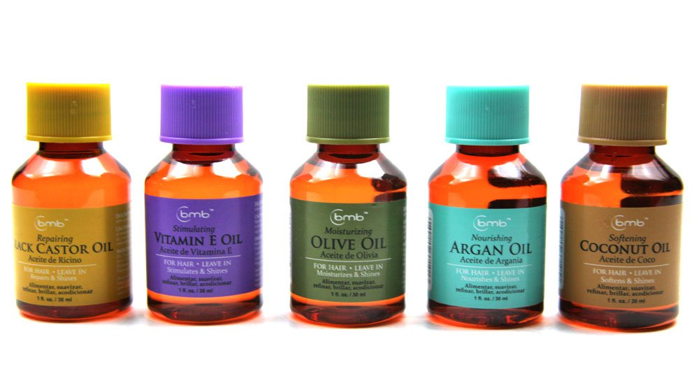 Amazon.com : BMB Repairing Oil For Hair Leave in Repair Treatment 1 Oz Selection (SET OF 5) : Beauty