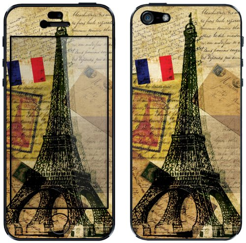 Cellet Vintage Eiffel Tower Skin for Apple iPhone 5/5s