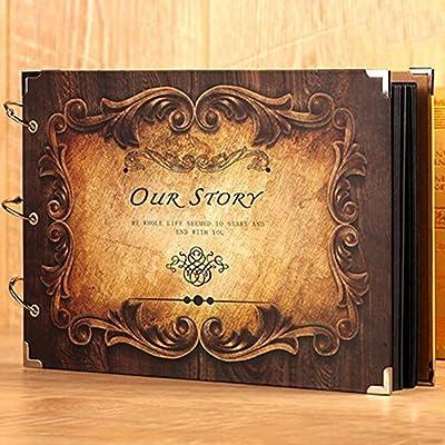 Personalised tradicionales de nuestra historia de amor Álbum De Fotos Regalo 200 6x4 Fotos