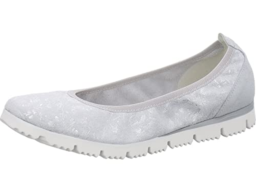 Womens 22127 Loafers, Grey Marco Tozzi
