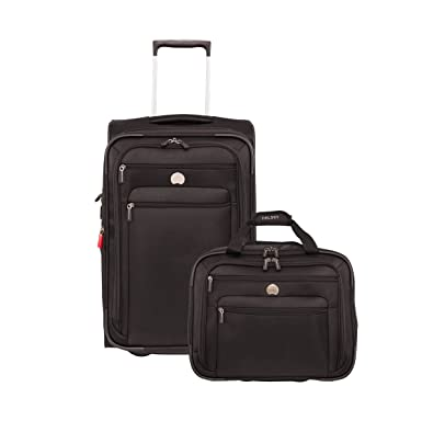 Amazon.com | Delsey Luggage Helium Sky 2.0 Two-Piece Carry on ...