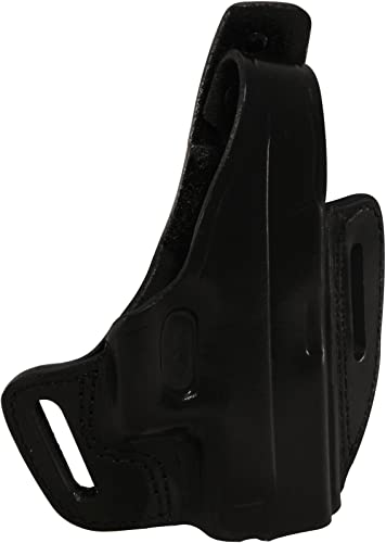 Gould & Goodrich Two Slot Pancake Holster for Glock 43,Right Handed, Black