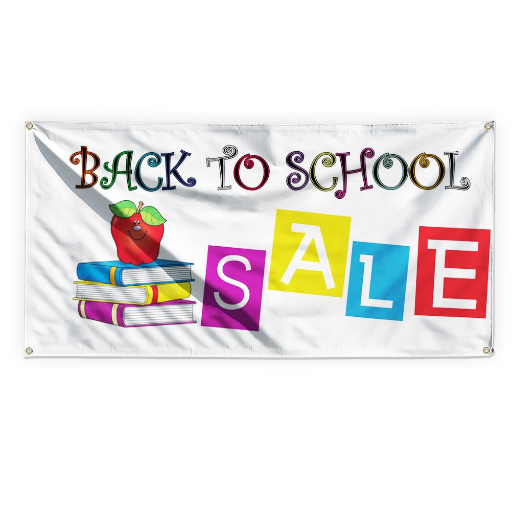 Back To School Sale #1 Outdoor Advertising Printing Vinyl Banner Sign With Grommets - 3ftx6ft, 6 Grommets
