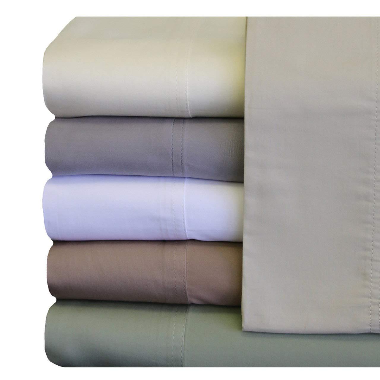 ABRIPEDIC TENCEL SHEETS, Silky Soft and Naturally Pure Fabric, 100% Woven Tencel Lyocell Sheet Set