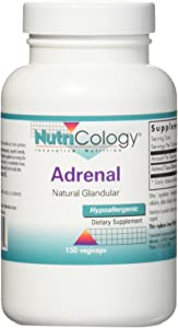 Nutricology Adrenal 100 Mg, 150 Count