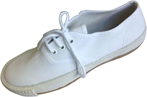 New Kids White Canvas School Uniform
