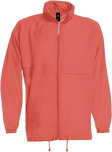 Lightweight Unisex Kagoul Rain Coat Jacket water proof Kagool Cagoule S-XXL