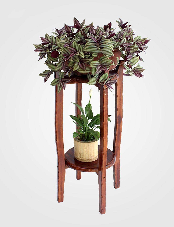 LHP Massivholz-Blumen-Rack-Wohnzimmer-hängende Blumen-Rack-Grün Rettich Blumen Rack-Innenblumenzahnstange Mehrschichtige Bonsai Blumen Racks High-End ( größe : 80cm )