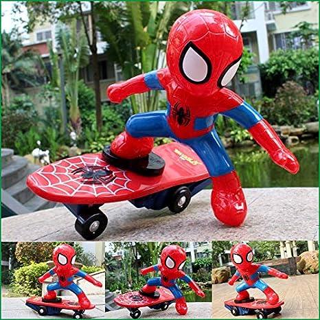 Amazon.com: Marvel Spiderman Shunt Scooter El mejor regalo ...