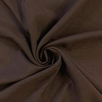 """Navy Polyester Chiffon Fabric 60"""" Width Sold By The Yard"""