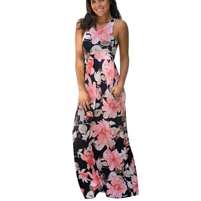 6d617f27a Switchali Vestidos Verano Mujer 2017 Casual Vestidos de Fiesta para Bodas  Largos Elegantes Mujer Maxi el