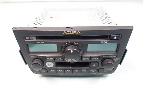 Amazoncom Acura MDX Touring Radio AM FM CD Player SvAza - Acura mdx cd player