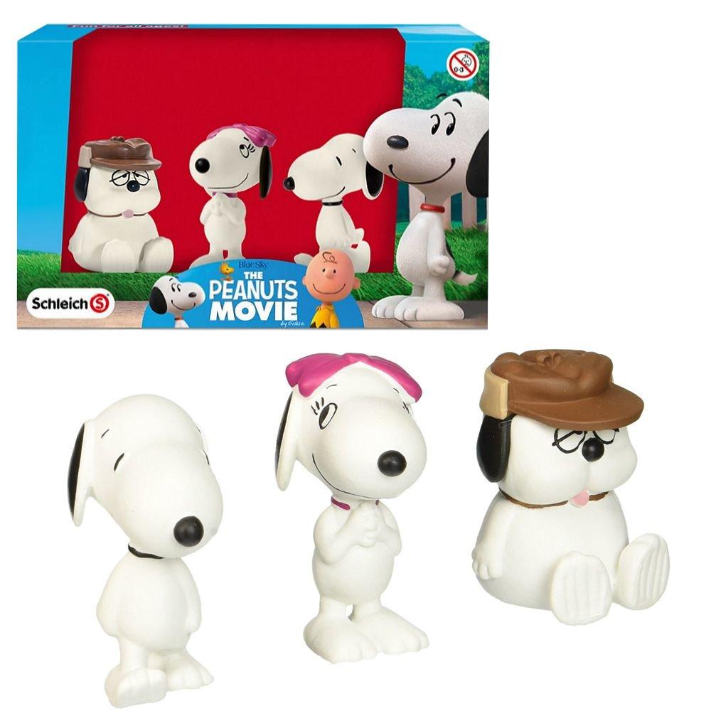 Schleich Figuras Establecen Snoopy | Belle y Olaf | Los Cacahuetes 22049: Amazon.es: Juguetes y juegos