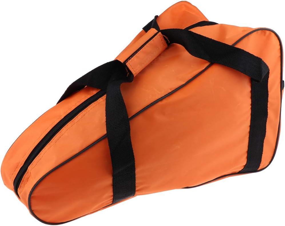 Orange 22 Zoll Tragetaschen Aufbewahrungskoffer f/ür Kettens/äge aus Oxford Tuch