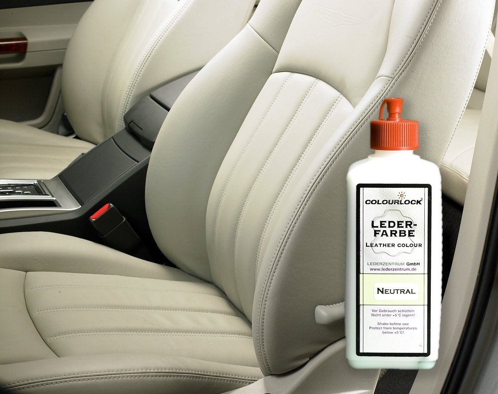 COLOURLOCK Colored Leather Filler 023fl Oz 7ml For Filling And Repairing Small Holes Tears Deeper Scratches Cracks On Car Seats