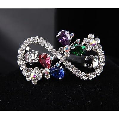 KHSKX-La Version Coréenne De Diamond Épingle Coiffure Coiffure Masson - Haut - Carte Printemps Collet Fleur Femelle