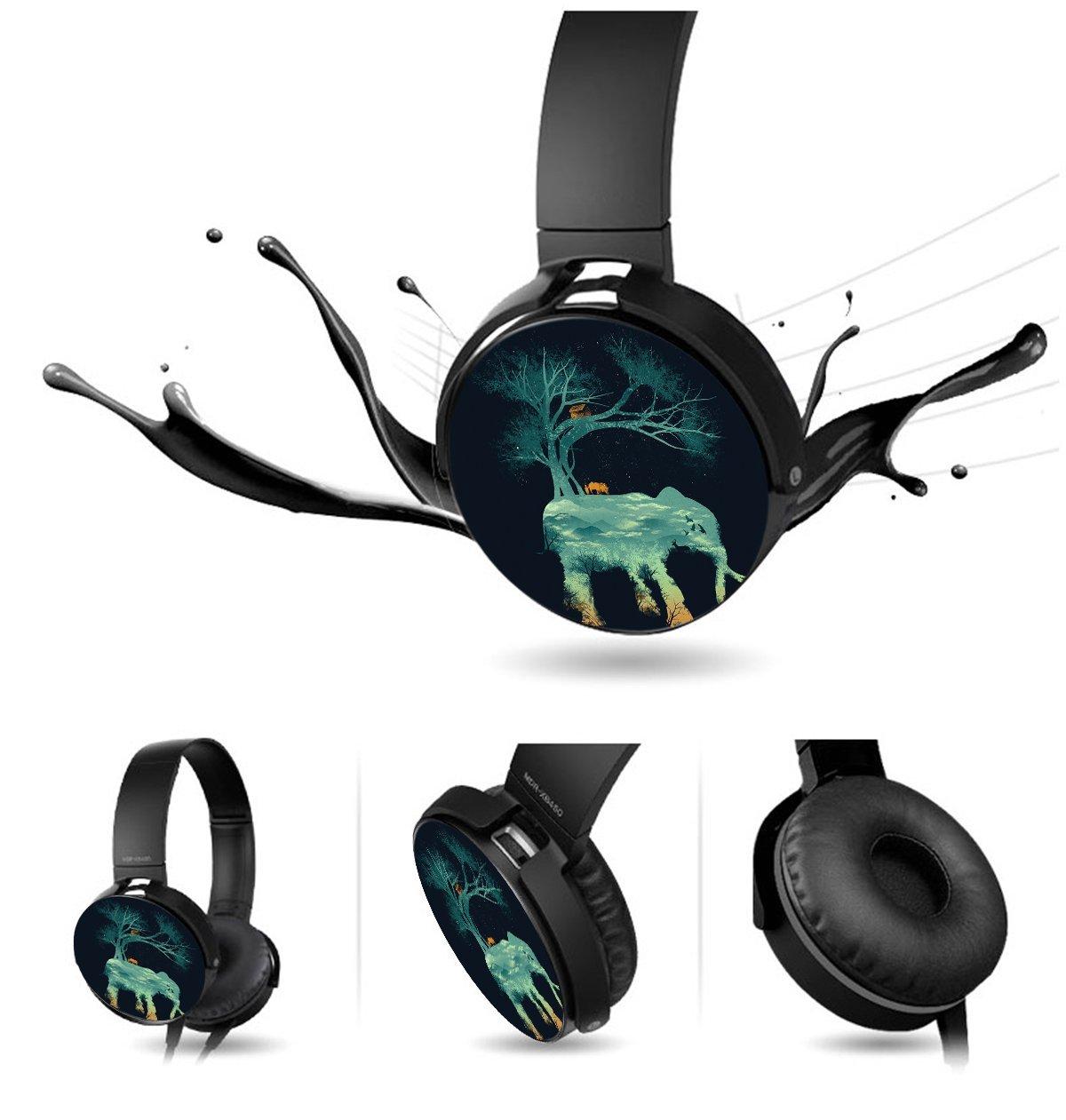 high-quality the tree of life Handmade Extra Bass Headset