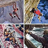 AmazeFan Climbing Harness, Thicken Rock Climbing