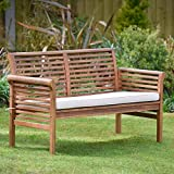 Plant Theatre 2-Seater Hardwood Garden Sofa with Cushion included