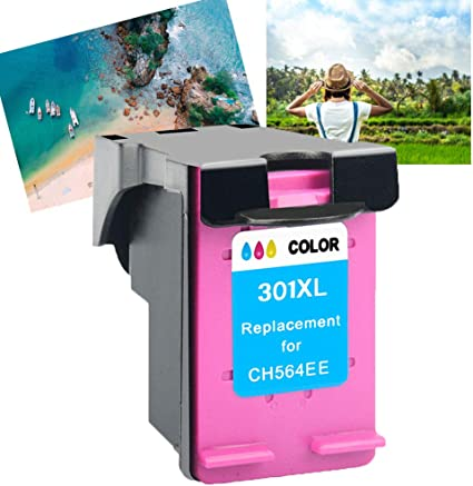 1x Colour Remanufacturado Compatible Cartucho de Tinta HP 301 301XL para HP Deskjet 1000 1510 2050 2540 2542 2544 3050A 3055A HP Envy 4500 5530 HP Officejet 2620 4630 4634: Amazon.es: Oficina y papelería