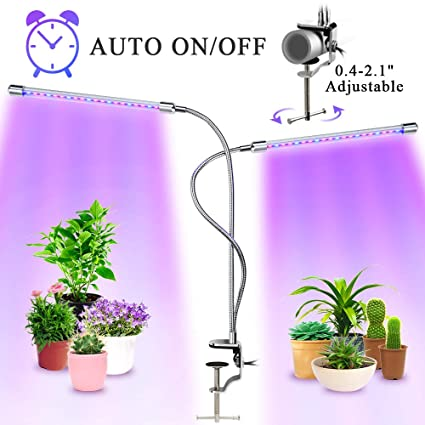 Amazon.com: MuchaLux Lámpara de crecimiento con clip LED de ...