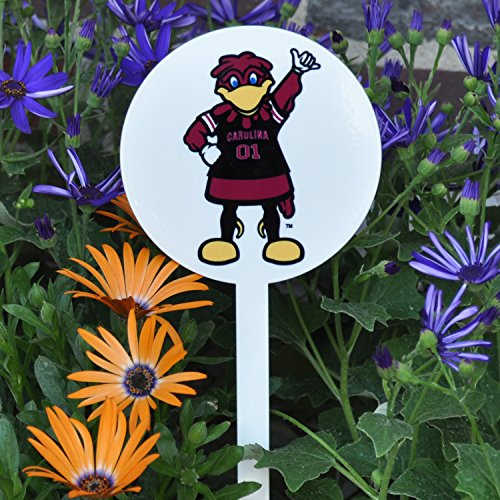 Authentic Street Signs Spring STEEL Garden Stakes (South Carolina Cocky- White) -