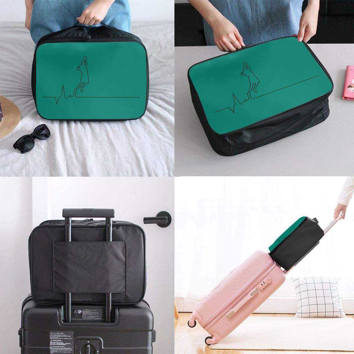 Travel Luggage Duffle Bag Lightweight Portable Handbag Basketball Large Capacity Waterproof Foldable Storage Tote