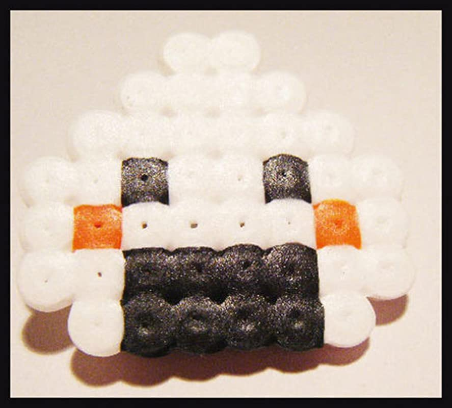 Broche Sushi Onigri Originale Perle Hama Pixel Art Kawaii Plastique Amazon Fr Handmade