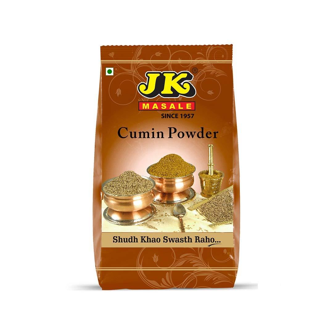 JK Indian Spices/Masala CUMIN POWDER (Jeera) - 17.64 oz / 500g, Non-GMO and NO preservatives!