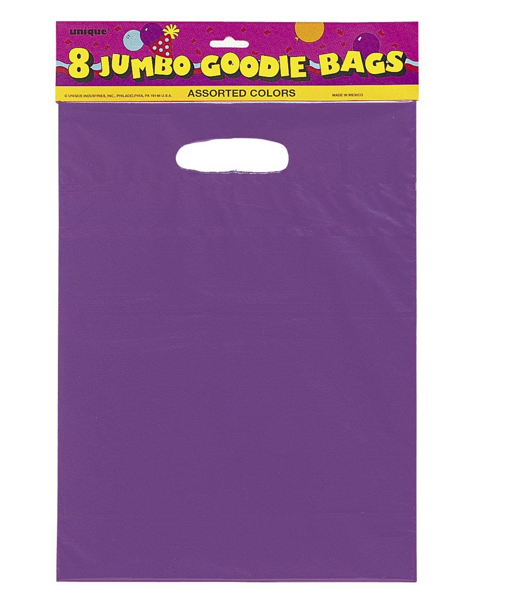 59013 Papier Paquet de 12 Sacs Cadeaux Orange Unique Party