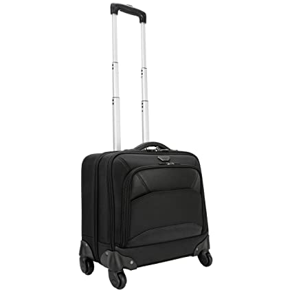 ba319e41a5ad44 Amazon.com: Targus Mobile ViP 4-Wheeled Business and Overnight Rolling Case  for 15.6-Inch Laptops, Black (TBR022): Computers & Accessories