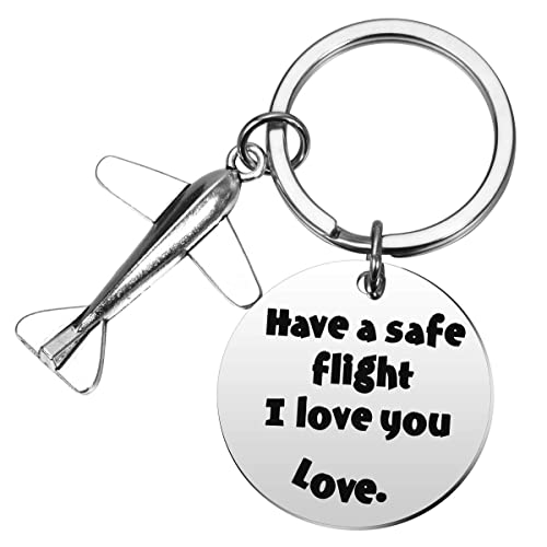 Amazon.com: MIXJOY - Llavero de vuelo seguro, regalo de ...