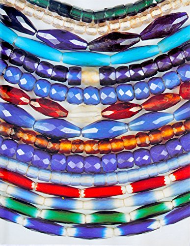Russian Faceted Beads - Russian Blues, Faceted and Fancy Beads from the West African Trade, Vol. 5