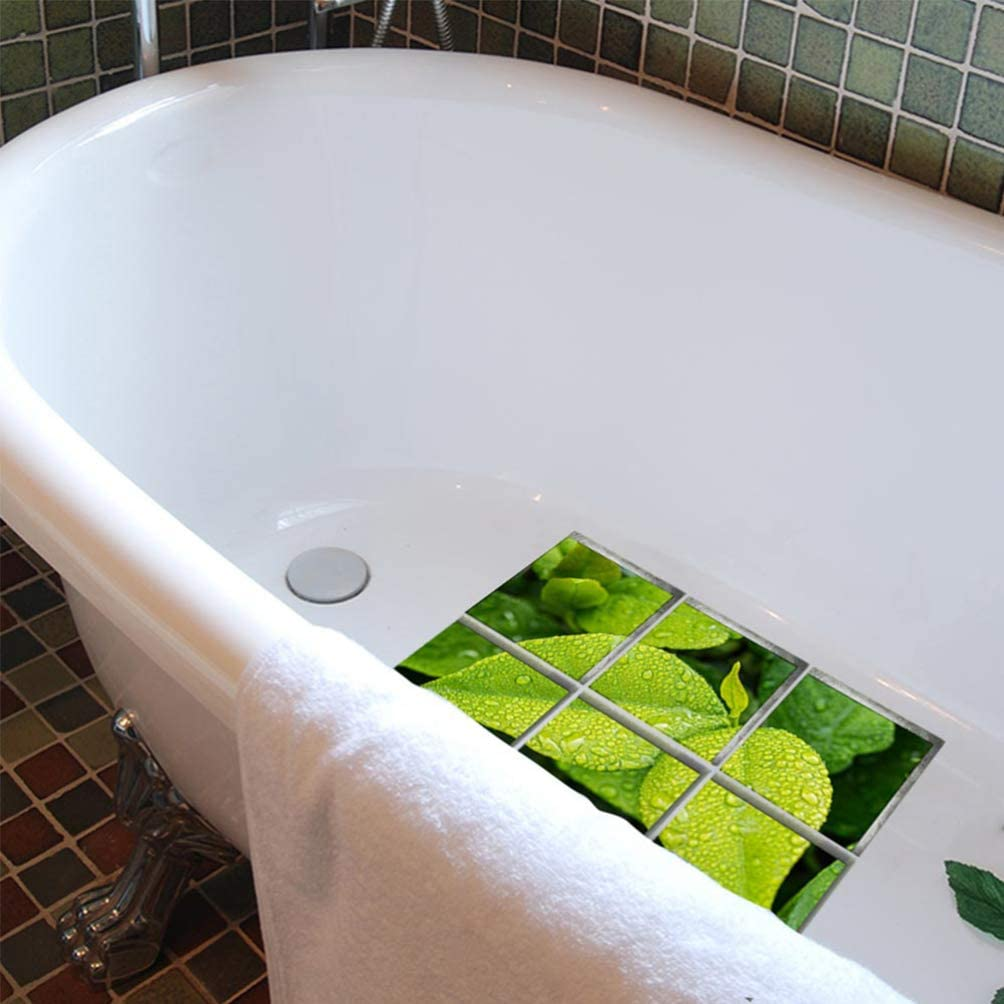 Lioobo Adesivi Per Vasca Antiscivolo Applique Per Vasca 3d Da 6 Pezzi Adesivi Per Bagno In