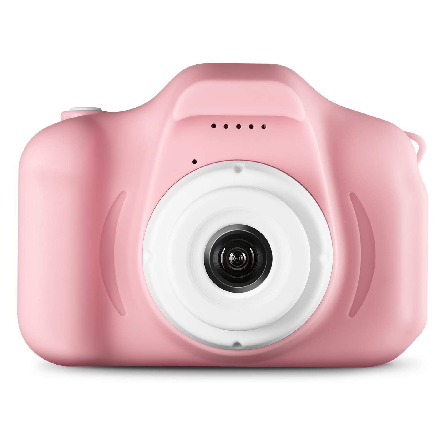 Agassi Kids Camera ,Digital Camera for Kids,Digital Video Camera Children Creative DIY Camcorder with Rechargeable Battery Birthday / Christmas / (16G TF Card Included),Pink by Agassi