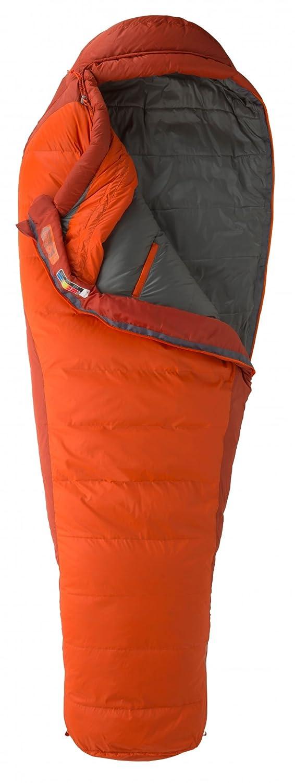Marmot Datum Sleeping Bag Regular Orange Haze/Dark Rust 2016 Mumienschlafsack
