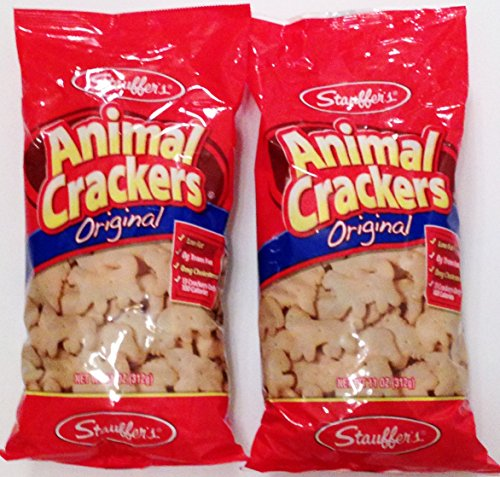 - Stauffer's Animal Crackers Original 11 oz bag (2 bags 22 oz total)