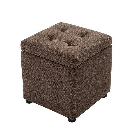 Chairs Taburete de almacenaje Taburete tapizado Silla de ...