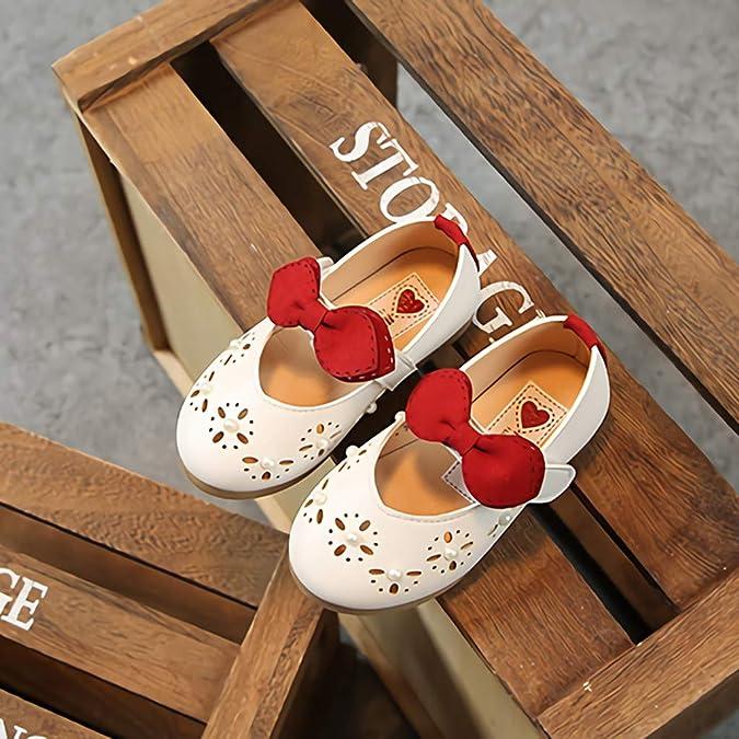 3c6c082386dde Amazon.com: Luonita Kids Toddler Baby Girls Mary Jane Flat Princess ...
