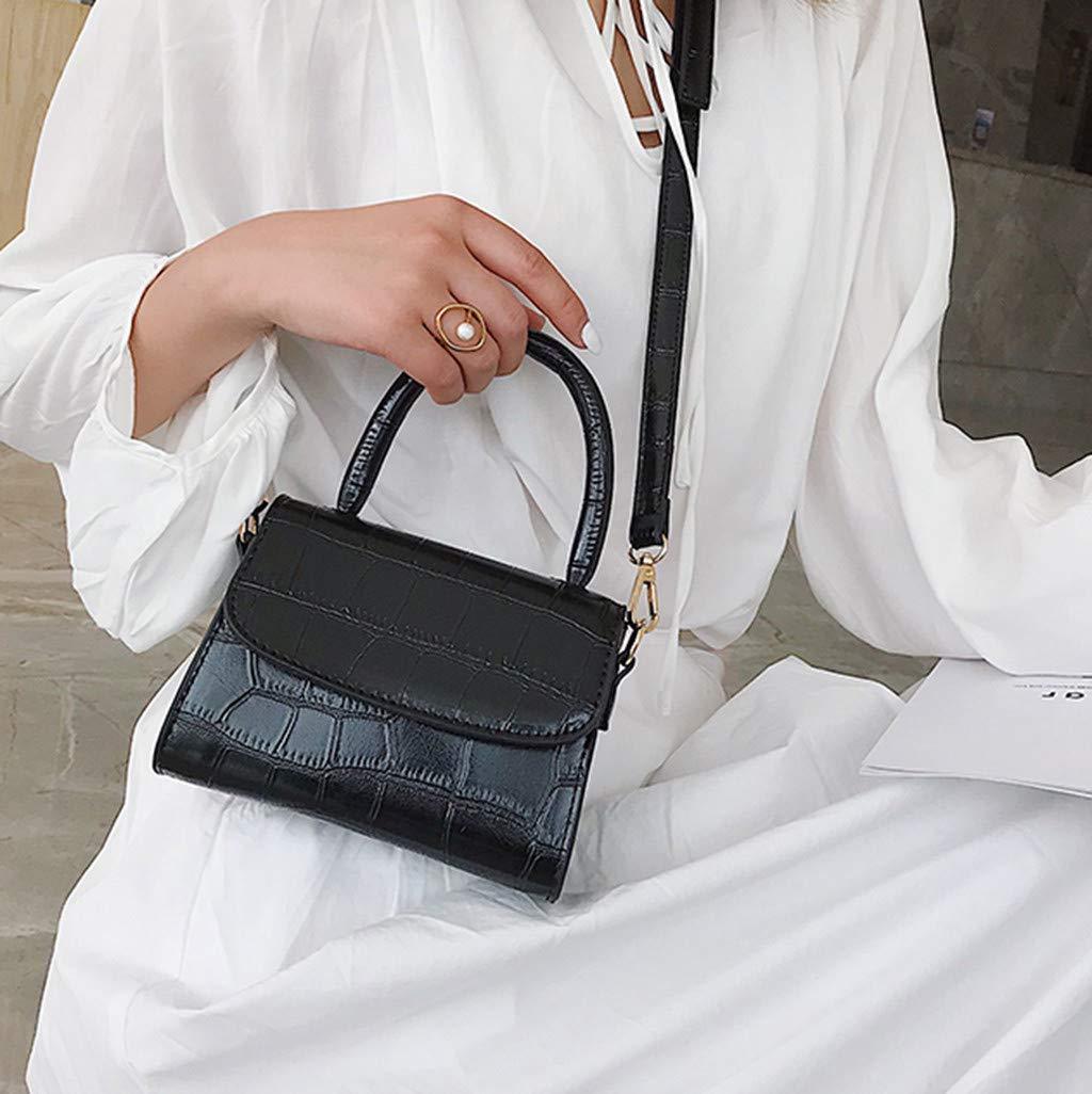6271e355da6c Amazon.com: Yiwanjia Women Small Crossbody Bag Cell Phone Purse ...