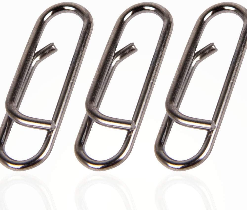 50X Sea Fishing Lead//Bait Snap Clip 18//23mm Medium Weight Link Quick Change gh