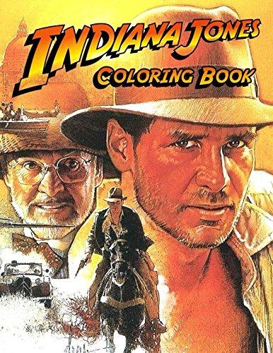 Indiana Jones Coloring Book