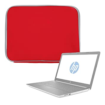 DURAGADGET Funda De Neopreno Roja para Portátil HP Notebook 15-da0039ns, HP Notebook 15-da0084ns, HP Notebook 15-db0027ns: Amazon.es: Electrónica