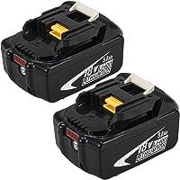 2X BL1850B 18V 5.0Ah Reemplazo de Batería