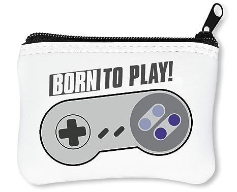 Born To Play Controller Gaming Billetera con Cremallera ...