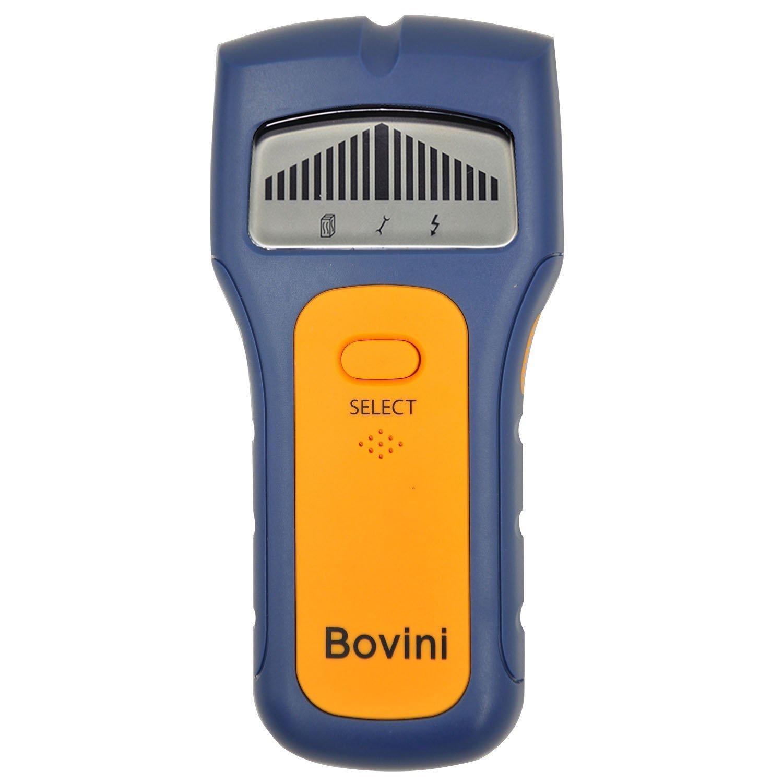 Stud Finder - Bovini MultiScanner Stud Sensor - Digital Wall Stud Finder Wood - Electronic Wall Scanner with Live AC WireWarning Detection Deep Scanning for Live AC Wire, Metal, Studs