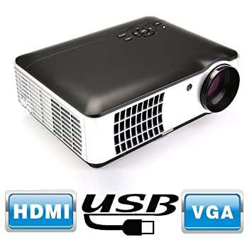 Flylinktech® RD-806 Full HD LED proyector Home Theater con HDMI ...
